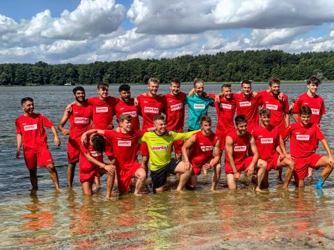 U19 im Trainingslager
